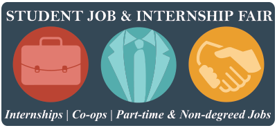 Student Job & Internship Fair - Fall 2015 logo