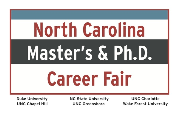 North Carolina Master's & PhD Career Fair logo