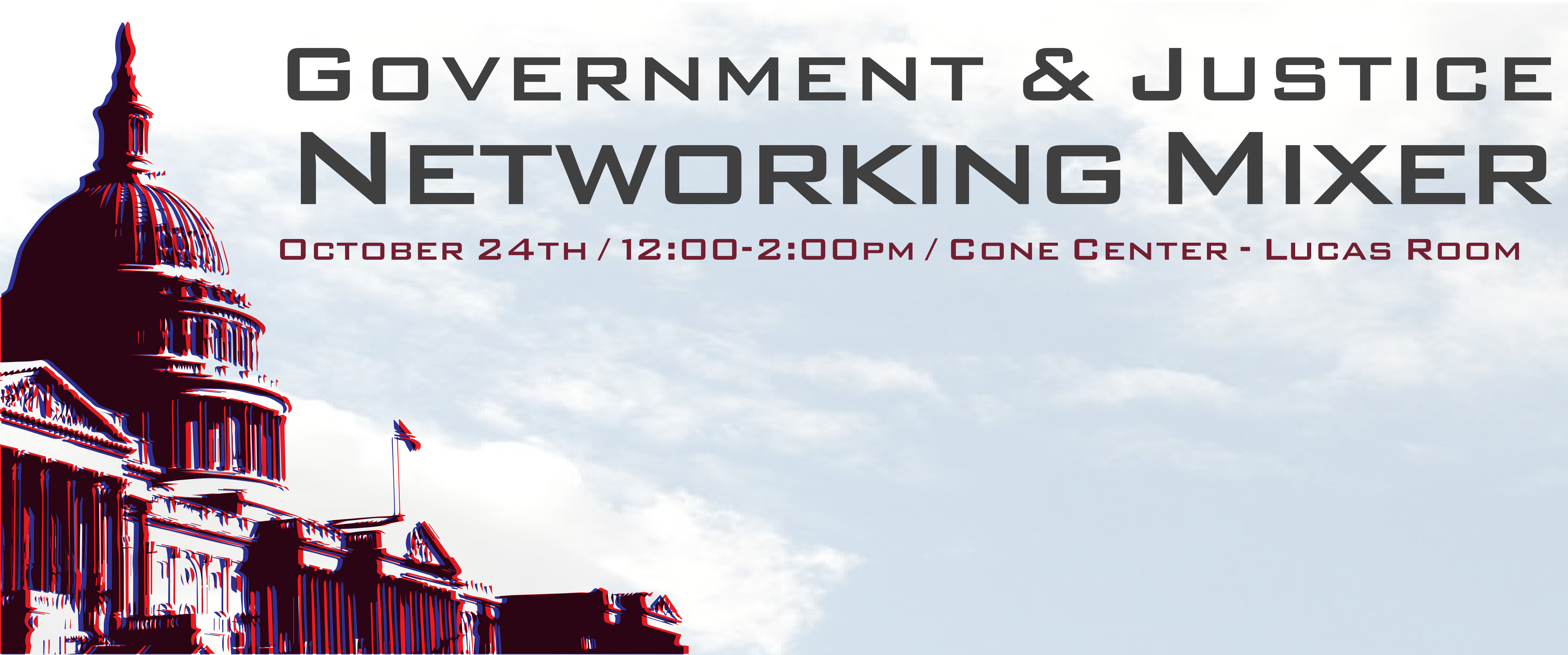 Government & Justice Networking Mixer logo